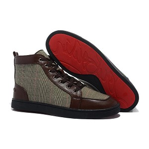 Wholesale Christian Louboutin Mens High Tops 1077