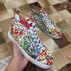 Wholesale Christian Louboutin Womens High Tops 1024