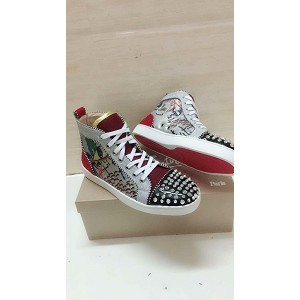 Wholesale Christian Louboutin Womens High Tops 1031